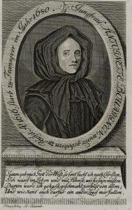 Bildnis von Antoinette de Bourignon - Stabi Hamburg
